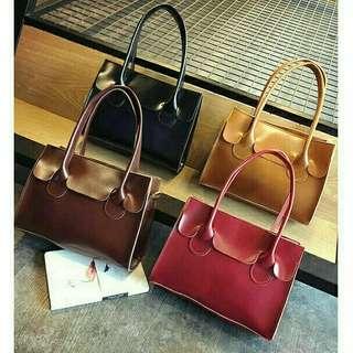 🔥PROMO RAYA 2018 🤩  Fashion Bag   🍎CHERRY HAND BAG   Ready Stock  ✅ RM45 free POSTAGE   size : 23cm x 18cm x 9cm  colour : RED / BLACK / D.BROWN=coffee