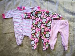 Frogsuits 0-3 mos