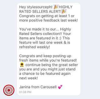 ✨9th TIME HIGHLY RATED SELLER ✨