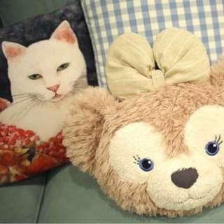 🚚 ✨香港迪士尼購入 雪莉玫大頭抱枕靠墊
