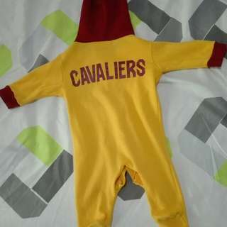 NBA baby boy romper