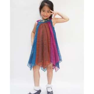 Bohemian georgette dress