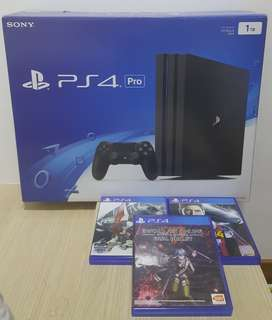 [Pre-owned] PS4 Pro Black 1TB