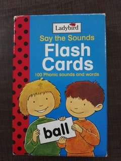 Ladybird Say the Sounds Flash Cards