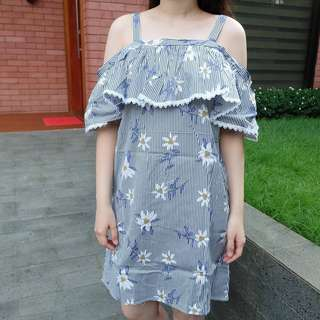 NEW dress bunga