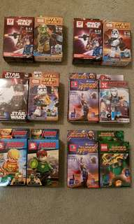 Star Wars and Super Heroes