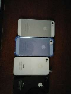 2 Iphone 5s and 2 Iphone 4s