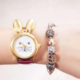 Bunny Design Watch