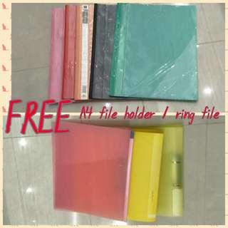 FREE FREE A4 FILE / RING FILE