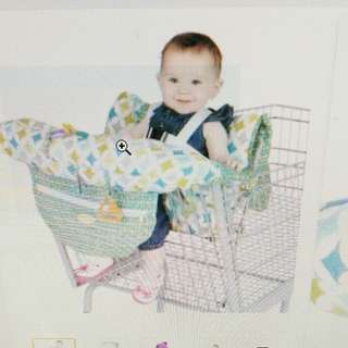 Baby high chair,shopping trolley cover
