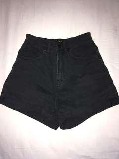 Lee Denim high waisted shorts