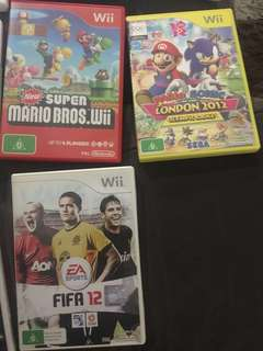 Multiple Wii Games