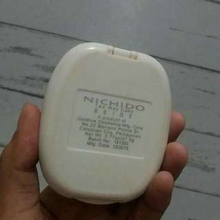 Nichido Two Way Cake Powder Foundation in Beige