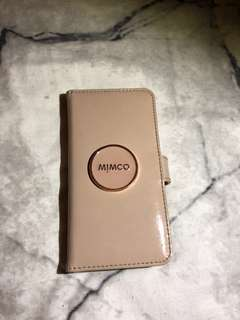Mimco IPhone 7 leather flip cases