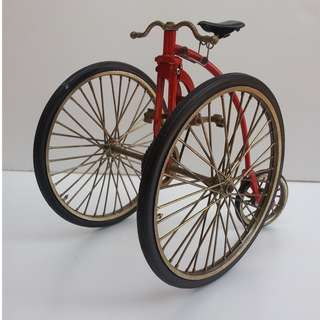 1800's Victor High Wheel Inspired Vintage Display Bike