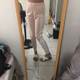 H&M Baby Pink Track Pants