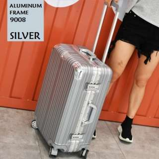 Aluminum frame expandable spinner travel aero luggage hardcase 20/24inches