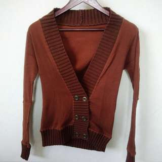 Brown Cardigan