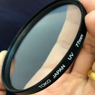 Toko Japan 77mm UV filter