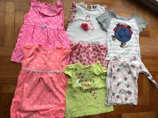 Baby girl clothes 18M to 24M