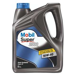 Mobil Super 2000 x2 10W-40 Semi Synthetic Engine Oil (4L)