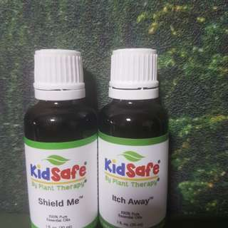 Plant Therapy Essential oil Set of 2 ( shield me and itch away)
