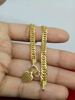 916 hollow gold