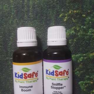 Plant Therapy Essential oil Set of 2 ( immune aid and sniffle stopper)