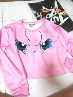 Jigglypuff Crop pullover