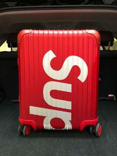 Supreme Rimowa Red 45L
