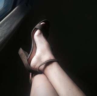 Brash payless 2strap heels