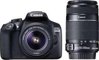 DSLR Canon 1300D Bisa cicilan Tanpa CC