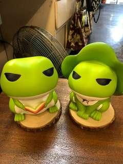 ❤️可愛旅蛙存錢筒❤️值得收藏❤️(小)