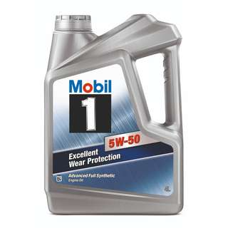 Mobil 1™ 5W-50 Fully Synthetic Engine Oil (4L)