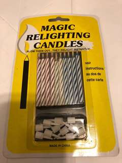 Magic relighting candles party 蠱人蠟祝 (包平郵)