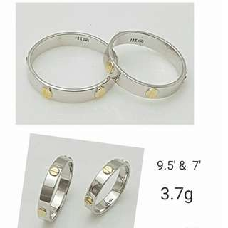 CARTIER COUPLE RING