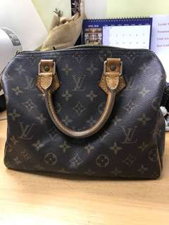 Authentic speedy 25 Louis Vuitton LV