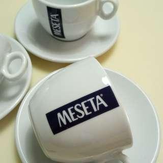 3 sets of Meseta Coffee cups n saucers