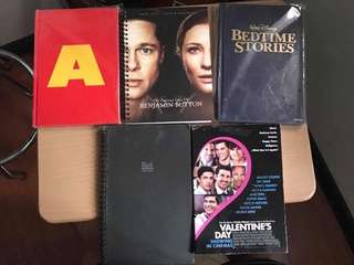 5 notebooks movie