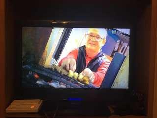 Sharp聲寶32时高淸電視(高清接收),當壞機賣。