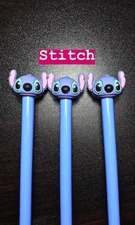Stitch character gel pens