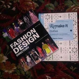 2 Fashion Design Books