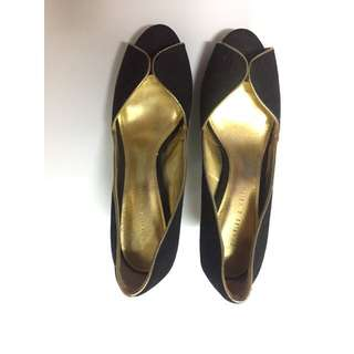 Black Charles and Keith Shoes