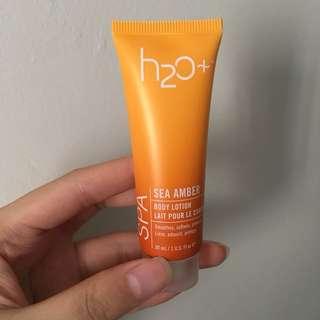 H2O Sea Amber Body Lotion