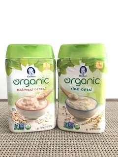 Gerber Organic Baby Cereal