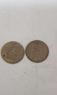 5 Cents Singapore