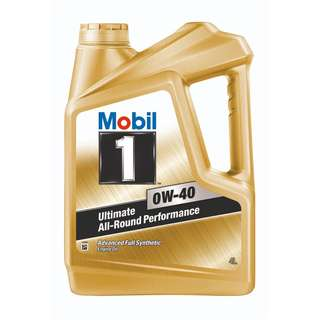 Mobil 1™ 0W-40 Fully Synthetic Engine Oil (4L)