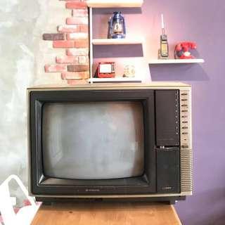 「早期電視功能正常」 早期 古董 復古 懷舊 稀少 有緣 大同寶寶 黑松 沙士 鐵件 40年 50年