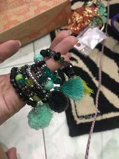 REPRICED!! Nepali bracelet bundle
