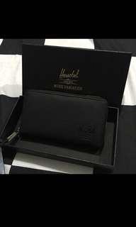 Herschel zip wallet (Pebble Black)
